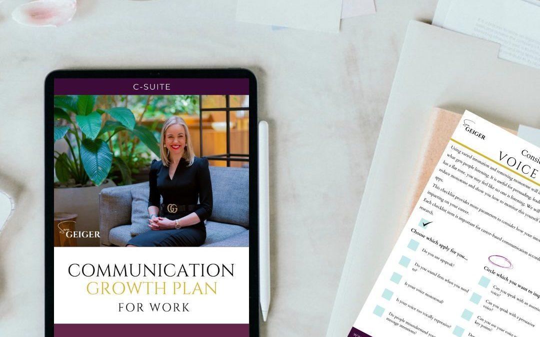communication growth plan