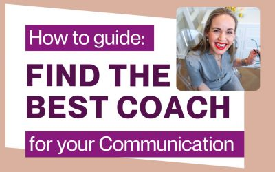 How to Choose the Best Communication Consultant to Develop your Speaking Skills
